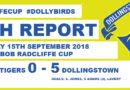 Five Star Dollingstown head for Round 2 In The Bob Radcliffe Cup