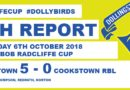Strong 2nd Half Puts Dollybirds Into The Next Round Of The Bob Radcliffe Cup