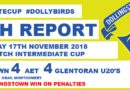 Goal Fest At Planters Park As The Dollybirds Triumph In Penalty Shoot-Out Against The Glens