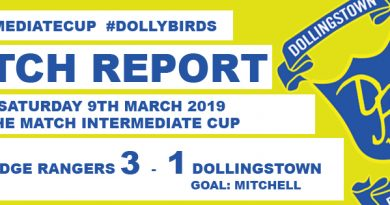 Dollybirds Exit The Intermediate Cup At The Hands Of Banbridge Rangers