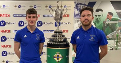 CUP DRAW   Dollingstown To Face St. James' Swifts in Semi-Final Of The McCombs Coach Travel Intermediate Cup